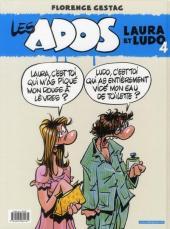 Verso de Les ados -4- Laura et Ludo 4