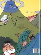 Verso de Le génie des Alpages -10- Monter, descendre, ça glisse pareil