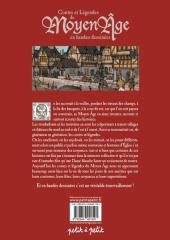 Verso de Les contes en bandes dessinées - Contes et légendes du Moyen-Âge
