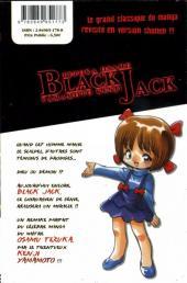 Verso de Black Jack, le médecin en noir -2- Volume 2