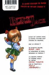 Verso de Black Jack, le médecin en noir -3- Volume 3