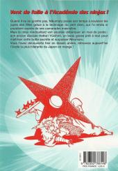 Verso de L'académie des Ninjas -2- Tome 2