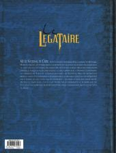 Verso de Le décalogue - Le Légataire -5- Le testament du prophète