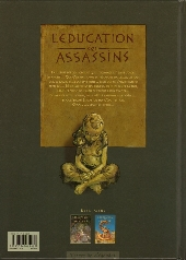 Verso de L'Éducation des assassins -2- Les tourments de l'Aristotélice