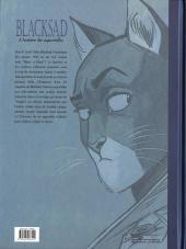 Verso de Blacksad -HS2- L'histoire des aquarelles - Tome 2