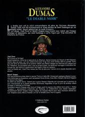 Verso de Alexandre Dumas -