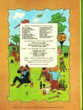 Verso de Tintin (Historique) -11B40- Le secret de la Licorne