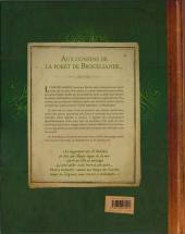 Verso de À la recherche de la Mandragore
