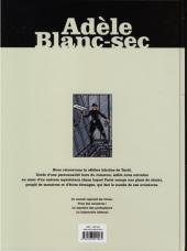 Verso de Adèle Blanc-Sec (Les Aventures Extraordinaires d') (France Loisirs) -INT3- Tomes 7,8 & 9