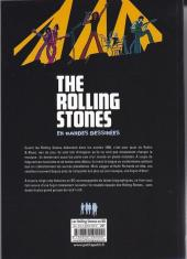 Verso de Rolling Stones en bandes dessinées (The) - The Rolling Stones en bandes dessinées
