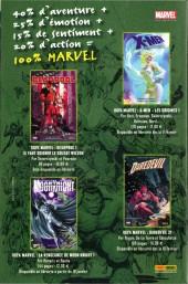 Verso de Marvel Icons (Marvel France 2e série) -1- L'âge des héros