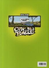 Verso de Cité d'la balle -2- Tome 2