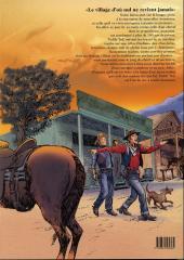 Verso de Teddy Ted -5- Le village d'où nul ne revient jamais