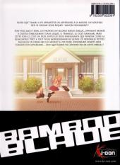 Verso de Bamboo blade -8- Tome 8