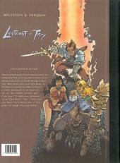 Verso de Lanfeust de Troy -HS1- Cartographie illustrée du monde de Troy