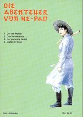 Verso de Abenteuer von He-Pao (Die) -4- Gipfel im Wind