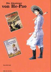 Verso de Abenteuer von He-Pao (Die) -3- Der purpurne Nebel