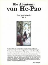 Verso de Abenteuer von He-Pao (Die) -1- Der irre Mönch