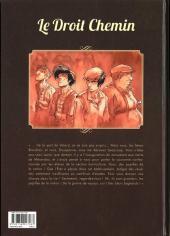 Verso de Le droit chemin -1- Les enfants terribles