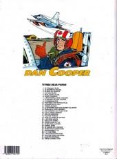Verso de Dan Cooper (Les aventures de) -33- Target