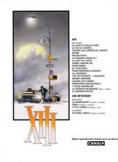 Verso de XIII -1Canal +- Le jour du soleil noir
