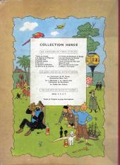Verso de Tintin (Historique) -11B20bis- Le secret de la licorne