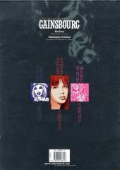 Verso de Les chansons de Gainsbourg - Tome INT
