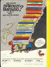 Verso de Spirou et Fantasio -9d79- Le repaire de la murène