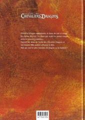 Verso de La geste des Chevaliers Dragons -1- Jaïna