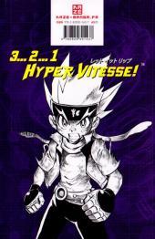 Verso de Beyblade Metal -3- Tome 3 / Metal Fusion