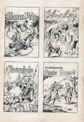 Verso de Ivanhoé (1e Série - Aventures et Voyages) -56- Le prisonnier du roi