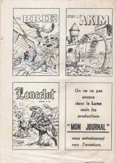 Verso de Ivanhoé (1e Série - Aventures et Voyages) -42- L'équipée de Nottingham