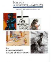 Verso de (Catalogues) Ventes aux enchères - Divers - Millon & Cornette de Saint Cyr - La Bande dessinée un art en mouvement - jeudi 11 juin 2009 - Paris Drouot Montaigne