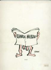 Verso de Les meilleures couvertures de Charlie Hebdo