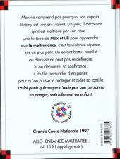 Verso de Ainsi va la vie (Bloch) -36- Jérémy est maltraité