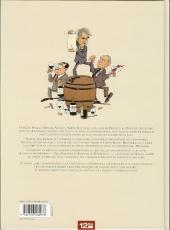Verso de Les caves du CAC 40 - Les dix commandements du vin