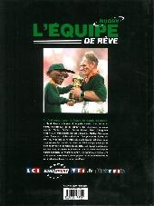 Verso de L'Équipe de rêve - Légendes -1- Rugby