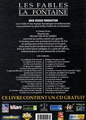 Verso de (AUT) Walthéry - Les fables de La Fontaine