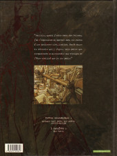 Verso de Blacksad -1a- Quelque part entre les ombres