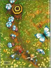 Verso de Petitmardi et les Zumins -2- La chasse au papillon