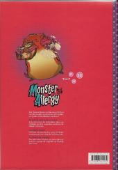 Verso de Monster Allergy Next Gen -1- Tome 1