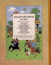 Verso de Tintin (Historique) -11B02- Le secret de la Licorne