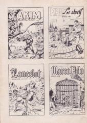 Verso de Ivanhoé (1e Série - Aventures et Voyages) -45- Le mariage de Robin Hood