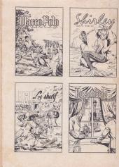 Verso de Ivanhoé (1e Série - Aventures et Voyages) -53- Le trésor d'Ely
