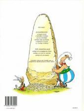 Verso de Astérix -25a98- Le grand Fossé