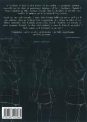 Verso de Afterschool Charisma -1- Tome 1