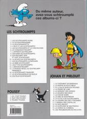 Verso de Les schtroumpfs -2d02- Le Schtroumpfissime (et schtroumpfonie en ut)