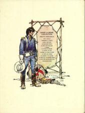 Verso de Blueberry -8b- L'homme au poing d'acier