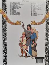 Verso de Thorgal -3d04- Les 3 vieillards du pays d'Aran