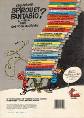 Verso de Spirou et Fantasio -2e84- Il y a un sorcier à champignac